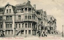 De Panne: bebouwing in de Duinkerkelaan en Zeilweg circa 1905