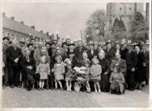 Zillebeke: huwelijksjubileum van Arthur Lewyllie en Leonie Platteau