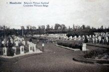 Houthulst: Belgisch militair kerkhof