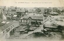 De Panne: Belgische stafofficieren logeren tijdens de Eerste Wereldoorlog in Hotel Continental