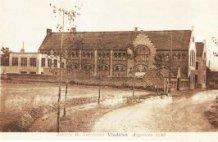 Vladslo: zicht op het klooster