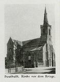 Houthulst: Kerk net voor Eerste Wereldoorlog.