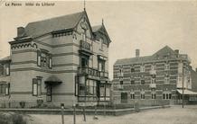 De Panne: Villa's les Vagues en Stella en Hôtel du Littoral  in de Nieuwpoortlaan