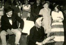 Lo: Schamelen Djoosstoet in 1954