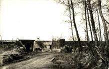 Hollebeke: spoorwegbrug nabij Drei Häuser