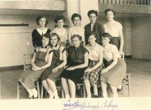 Nieuwpoort: afdeling Snit en Naad, Arme Klaren, 1955-1956