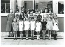 Handzame: de meisjes van het 2de leerjaar