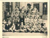 Nieuwpoort: klasfoto Landbouwschool Ten Bogaerde 1951-1952