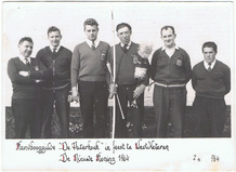 Westvleteren: Maurice Delaplace schutterskoning 1964