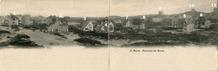 De Panne: Panoramisch zicht op de westelijke rand van de Dumontwijk