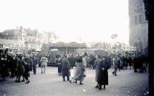 Ieper: kermis op de Markt