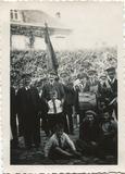 Veurne: het muziek van de Voorstad op bezoek in brouwerij 'De Fabriek'