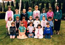 Werken: het derde leerjaar schooljaar 1986-1987