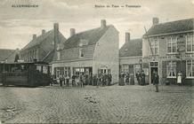 Alveringem: tramhalte op dorp voor Eerste Wereldoorlog