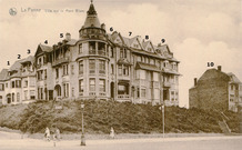 De Panne: decennialang beperkt de bebouwing op de Witte Berg zich tot 11 villa's