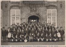 Nieuwpoort-Stad: huldiging uniformen Koninklijke Fhilharmonie