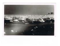 Koksijde-Bad: bevroren zee