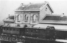 Zarren: het stationsgebouw voor de eerste Wereldoorlog