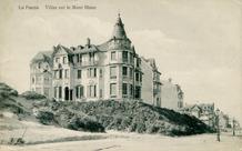 De Panne: bebouwing op de Witte Berg voor 1912