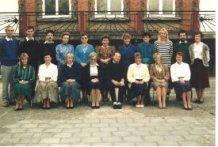 De Panne: lerarenkorps Immaculata Instituut 1987