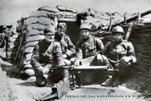 Merkem: Belgische soldaten in loopgracht