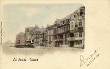 De Panne: bouwwoede op de Zeedijk in 1901