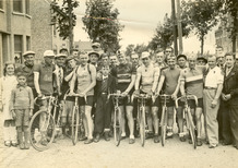 Diksmuide: wielrennen jaren 50