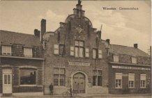Woesten: het gemeentehuis