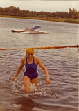 Sint-Niklaas: RYSC  internationale zwemdoortocht van Sint-Niklaas 1976