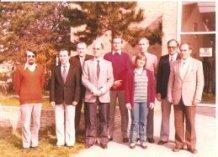 De Panne: leerkrachten St.-Pieterscollege 1982