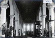 Reninge: interieur van de Sint-Rictrudiskerk