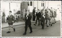 Dikkebus: plechtige communicanten 1968