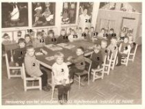 De Panne: klasfoto Rijkstechnisch Instituut 1962-1963