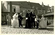 Lo: huwelijk van Wilfried Rooryck en Paula Ameloot in 1962