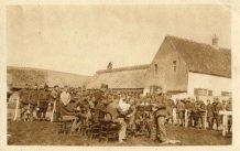 Eggewaartskapelle: muziekspelende soldaten