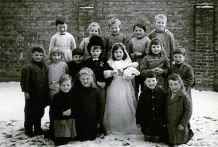 Reninge: schooltoneel begin jaren '60