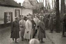 Houtem: begrafenisstoet Generaal Wielemans