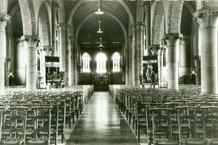 Kortemark: interieur van de kerk