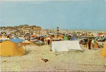De Panne: camping Zeepark, democratisch toerisme aan het strand