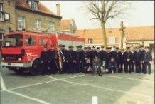 Vlamertinge: brandweerkorps krijgt nieuwe brandweerwagen
