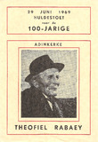 Adinkerke: huldestoet 100-jarige