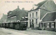De Panne: 'Hôtel de L'Espérance' en tramhalte