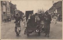 Oostduinkerke: carnavalstoet eind jaren '50