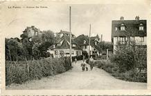 De Panne: zicht op Doktersweg