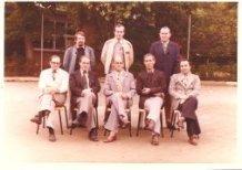 De Panne: leraren korps St.-Pieterscollege 1976-1977