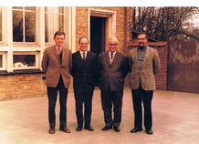 Houthulst: de vier onderwijzers van Jonkershove.