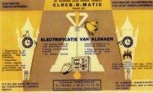 Lo: Reclamevloeiblad van firma Clock-o-Matic uit Lo