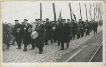 Keiem: Fanfare Sint-Cecilia bij 11 novemberviering