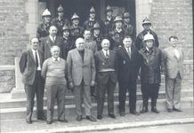 Langemark: ontvangst brandweer op het gemeentehuis
