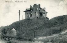 De Panne: villa Beau Séjour, permanent bewoond door het gezin François Dumont-Röhrs